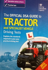 Official DSA Text book for our h licence training course available from Amazon